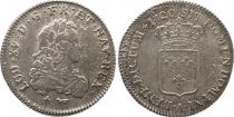 France 1/3 Ecu de France Louis XV - 1721 A Paris Argent