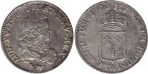 France 1/3 Ecu Louis XV - Armoiries 1720 A Paris