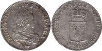 France 1/3 Ecu Louis XV - Armoiries 1720 A Paris