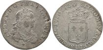 France 1/3 Ecu Louis XV - Armoiries 1720 B Rouen Argent