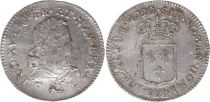 France 1/3 Ecu Louis XV - Armoiries 1720 V