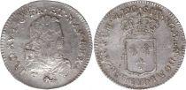 France 1/3 Ecu Louis XV - Armoiries 1720 V