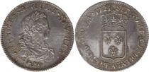 France 1/3 Ecu Louis XV - Armoiries 1721 A Paris