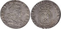 France 1/3 Ecu Louis XV - Armoiries 1721 T Nantes