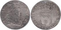 France 1/3 Ecu Louis XV - Armoiries 1722 B Rouen