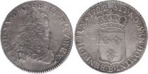 France 1/3 Ecu Louis XV - Armoiries 1722 B Rouen