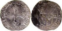 France 1/4 Ecu au marteau Louis XIII - 1615 Rennes (9)