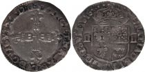 France 1/4 Ecu du Béarn Louis XIII - 1616