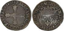 France 1/4 Ecu Henri IV - 1603 C saint-Lô - Argent