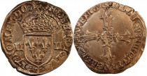 France 1/4 Ecu Henri IV - Argent - Ateliers et années variés