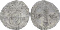 France 1/4 Ecu Louis XIII - 1/4 d\'écu au marteau - 1618 L