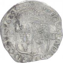 France 1/4 Ecu Louis XIII - 1/4 d\'écu de Béarn - 1629 F