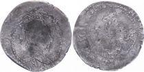 France 1/4 Franc  Henri III Col Plat - Argent - 1578 A