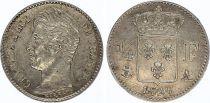 France 1/4 Franc Charles X - 1826 A Paris Argent