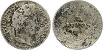 France 1/4 Franc Louis-Philippe 1er - 1839 A Paris - Silver