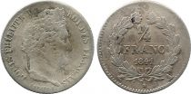 France 1/4 Franc Louis-Philippe 1er - 1841 A Paris - Argent