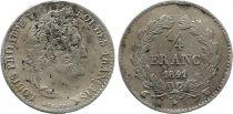 France 1/4 Franc Louis-Philippe 1er - 1841 W Lille - Argent