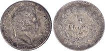 France 1/4 Franc Louis Philippe I - 1845 A Paris
