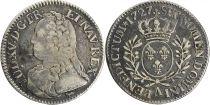 France 1/5 Ecu Louis XV aux branches d\'olivier - 1727 A