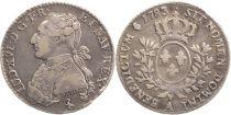 France 1/5 Ecu Louis XVI - 1783 A