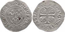 France 1 Blanc Guénar, Charles VI - ND (1380-1422) - ateliers divers