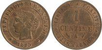 France 1 Centime, Cérès - Troisième République - 1895 A