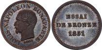 France 1 Centime  IIème République - 1851 Essai