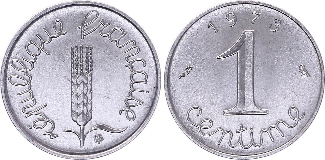 France 1 Centime Epi - 1973 - FDC issu de coffret