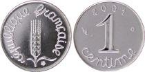 France 1 Centime Epi - 2001 Frappe BU