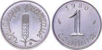 France 1 Centime Grain sprig - 1980 - UNC