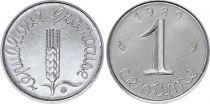 France 1 Centime Grain sprig - 1989 - UNC