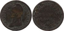 France 1 Decime Liberty head - An 5 A Paris (1797)