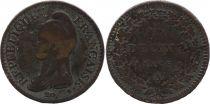 France 1 Decime Liberty head - An 5 A Paris (1797)