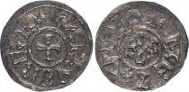 France 1 Denier, Charles the Bald (840-877) Monogram