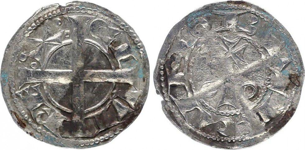 France 1 Denier, Comté de Barcelone - Alphonse II d Aragon père (1162-1196)