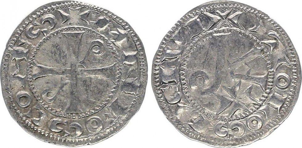 France 1 Denier, Comté de Toulouse - Alphonse Jourdain (1103-1148)