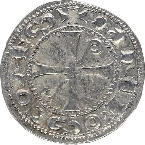 France 1 Denier, Comté de Toulouse - Alphonse Jourdain (1103-1148)
