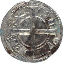 France 1 Denier, County of Provence - Alphonse II d Aragon father (1162-1196)
