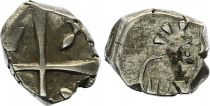 France 1 Drachme, Volcae Tectosages - Drachm Cubist head