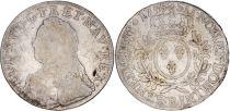 France 1 Ecu Louis XV aux branches d´olivier - 1735 B