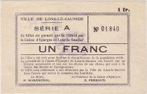 France 1 F , Lons-le-Saulnier Série A - petites armoiries