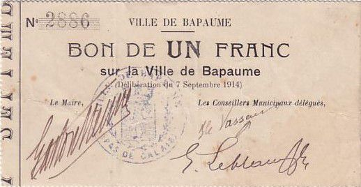 France 1 F Bapaume