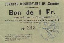 France 1 F Esmery-Hallon n° 343