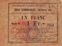 France 1 F Fampoux - 1915