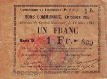 France 1 F Fampoux - 1915