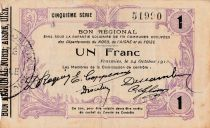 France 1 F Fourmies - Cinquième série - 24/10/1915