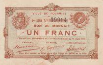 France 1 F Fourmies - Second serial - 14/08/1915