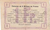 France 1 F Fourmies - Second serial - 24/10/1915