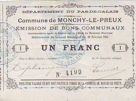 France 1 F Monchy-Le-Preux