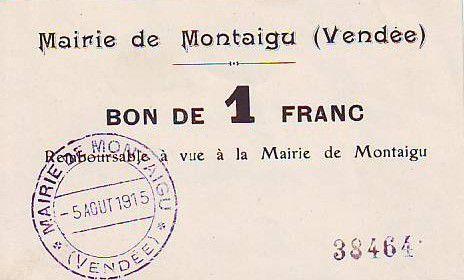 France 1 F Montaigu